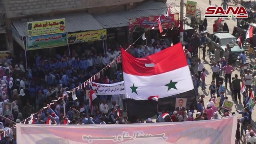 Deir Ezzor celebra logros del Ejército sirio ante invasión turca | HISPANTV