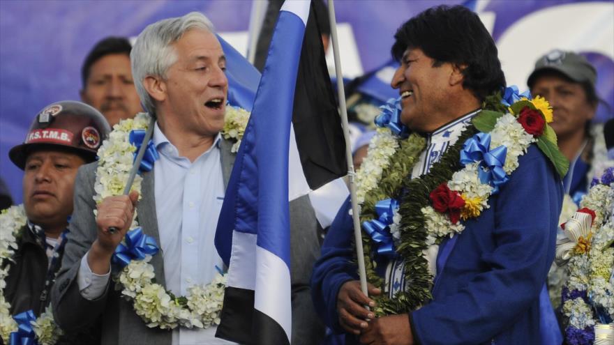 """Morales afirma que dará una """"paliza"""" a la oposición en comicios"""