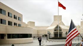 China arremete contra EEUU por restricciones a sus diplomáticos