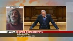 Costa: Crisis de Cataluña es por excluir independentismo de la política