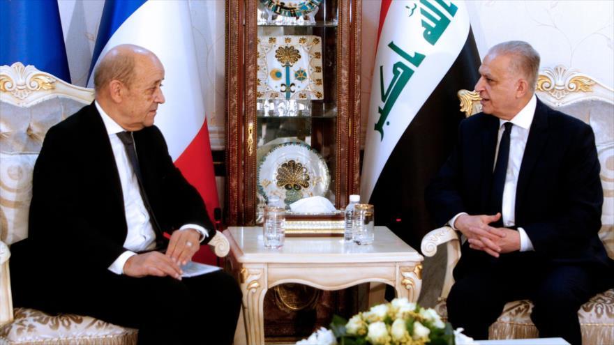Francia pide a EEUU rebajar tensiones levantando sanciones a Irán