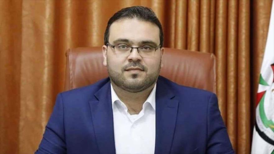 Hazem Qasem, portavoz del Movimiento de Resistencia Islámica de Palestina (HAMAS)