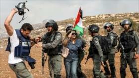 Fuerzas israelíes reprimen protesta de palestinos en Cisjordania