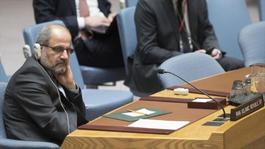 El embajador adjunto de Irán ante las Naciones Unidas, Eshaq Ale-Habib.