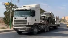 Vídeo: Siria despliega lanzacohetes Grad cerca de frontera turca