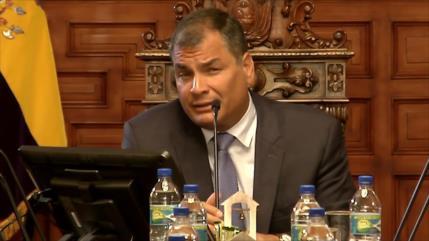 Tensiones y dudas en proceso penal contra Rafael Correa en Ecuador