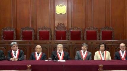 Corte peruana evaluará demanda contra disolución del Congreso