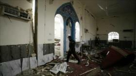 Explosiones en una mezquita dejan unos 62 muertos en Afganistán