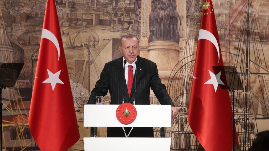 Erdogan amenaza con reanudar agresión militar en Siria