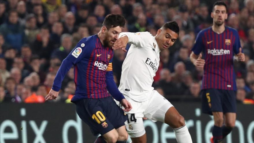 Aplazan el clásico Barcelona-Real Madrid por la crisis catalana | HISPANTV