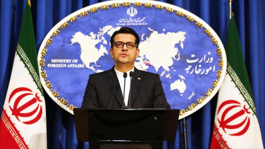 El portavoz del Ministerio de Relaciones Exteriores de Irán, Abás Musavi.