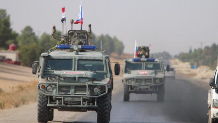 Vídeo: Fuerzas rusas patrullan norte de Siria tras salida de EEUU