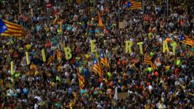 Movilizaciones en Cataluña contra sentencia a independentistas