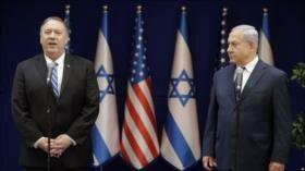 Pompeo no logra disipar inquietudes de Netanyahu sobre Siria