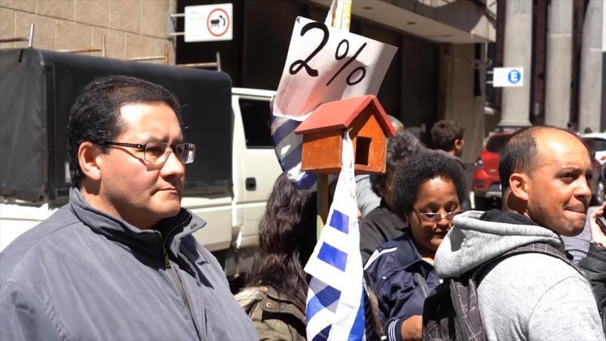 Agencia de Vivienda de Uruguay rechaza el pago de Fucvam