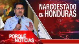 El Porqué de las Noticias: Caos en Cataluña. Turquía rompe tregua en Siria. Narcoestado en Honduras