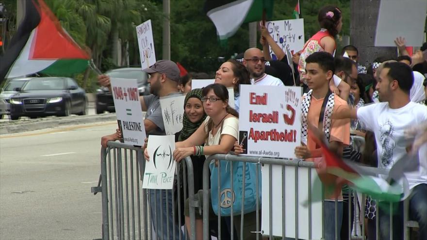 Comunidades oprimidas de EEUU en solidaridad con Palestina