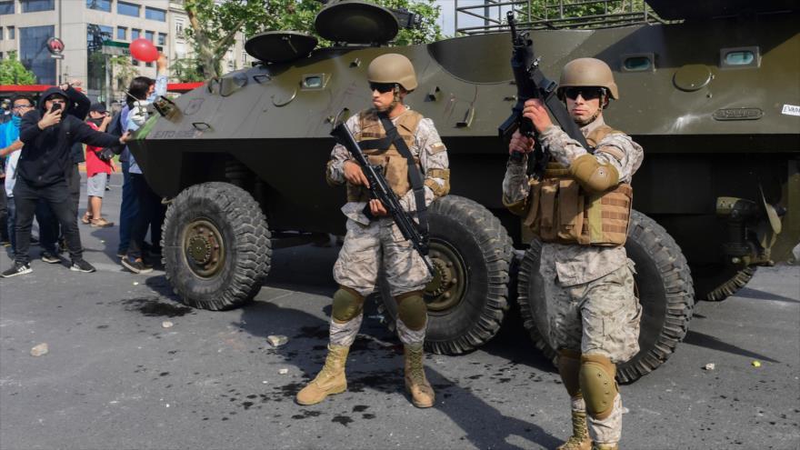 Ejército de Chile anuncia toque de queda tras últimos disturbios | HISPANTV