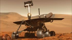Encuentran evidencia de un manantial de agua termal en Marte