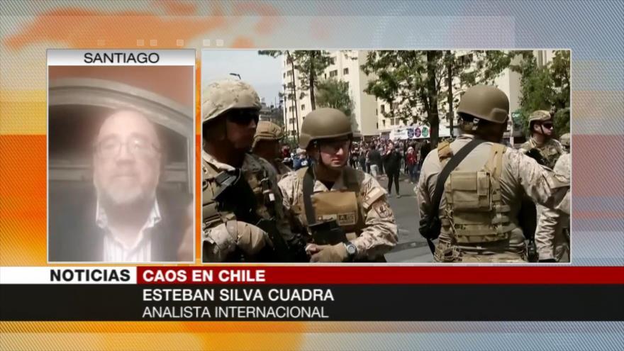 'Chilenos están hartos del Gobierno neoliberal de Piñera'
