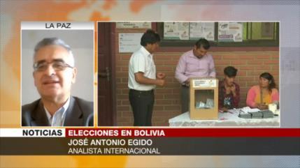 Egido: Derecha será nuevamente golpeada en comicios de Bolivia