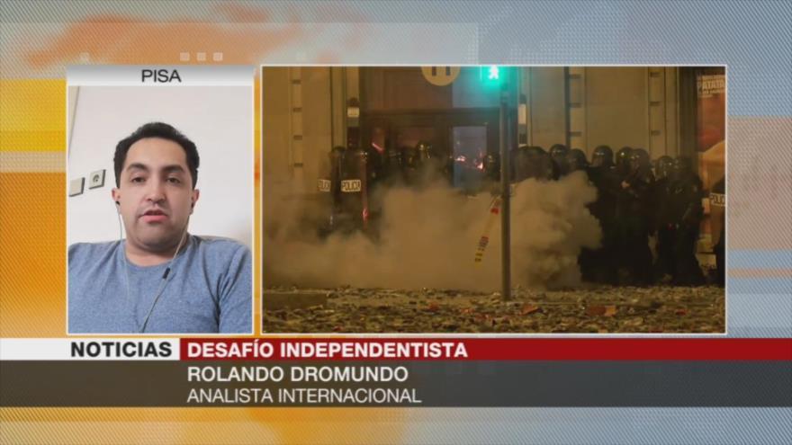 """""""Monarquía en España no puede resolver el desafío independentista"""""""