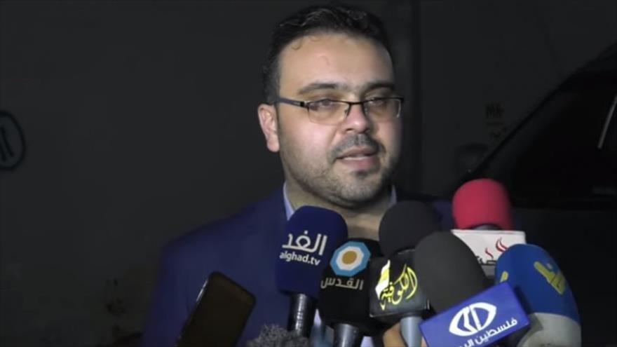 Hazem Qasem, portavoz del Movimiento de Resistencia Islámica de Palestina (HAMAS).