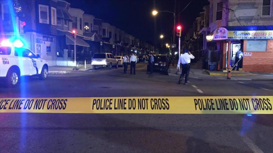 Un bebé de 11 meses recibió cuatro disparos en un tiroteo en el norte de Filadelfia, EE.UU., 19 de octubre de 2019 (Foto: NBC Philadelphia)