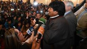 Morales se proclama ganador de las elecciones en Bolivia