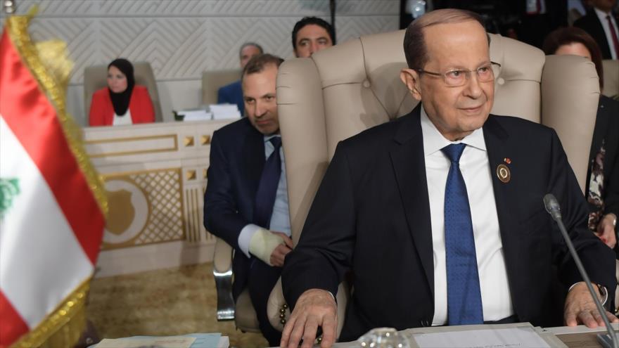 Aoun reconoce que las protestas reflejan el dolor de los libaneses   HISPANTV