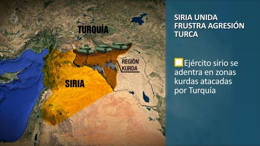 PoliMedios: Siria unida frustra agresión turca