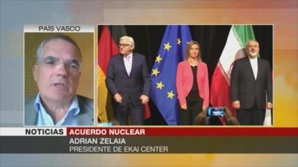 Zelaia: Europeos no deben quejarse ante pasos nucleares de Irán