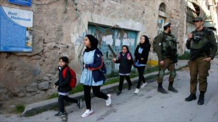 'Estudiantes palestinos, víctimas del racismo del régimen israelí'