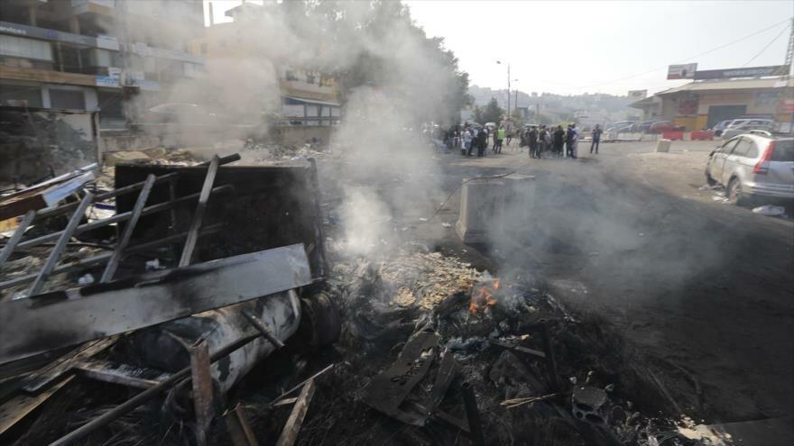 Israel en caos político. Crisis en El Líbano. Protesta en Chile