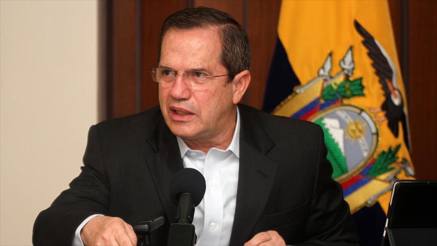 El exministro ecuatoriano de Asuntos Exteriores Ricardo Patiño.