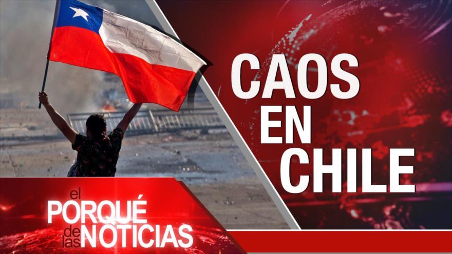 El Porqué de las Noticias: Israel en un callejón sin salida. Caos en Chile. Elecciones en Bolivia.