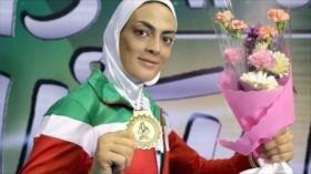 Equipo femenino de Irán logra dos oros en el Mundial de Wushu