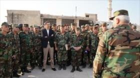 Fotos: Bashar al-Asad visita Idlib, cerca de la línea del frente