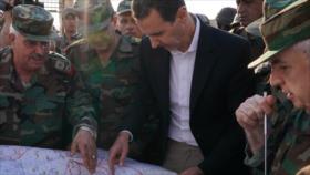 """Al-Asad tacha a Erdogan de """"ladrón"""" que busca robar tierras sirias"""