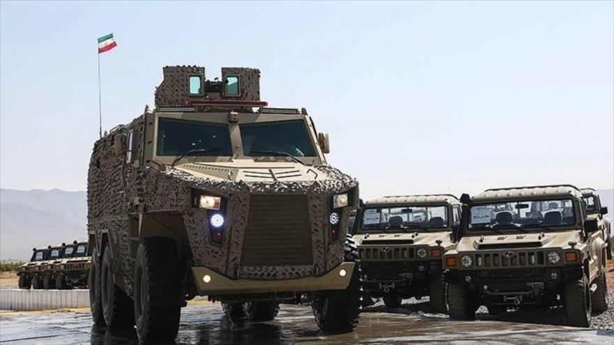 Vídeo: Conozca qué vehículos blindados equipan las FF.AA. de Irán