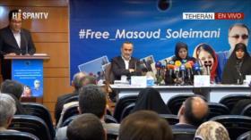 'Irán toma medidas legales en el caso de profesor detenido en EEUU'