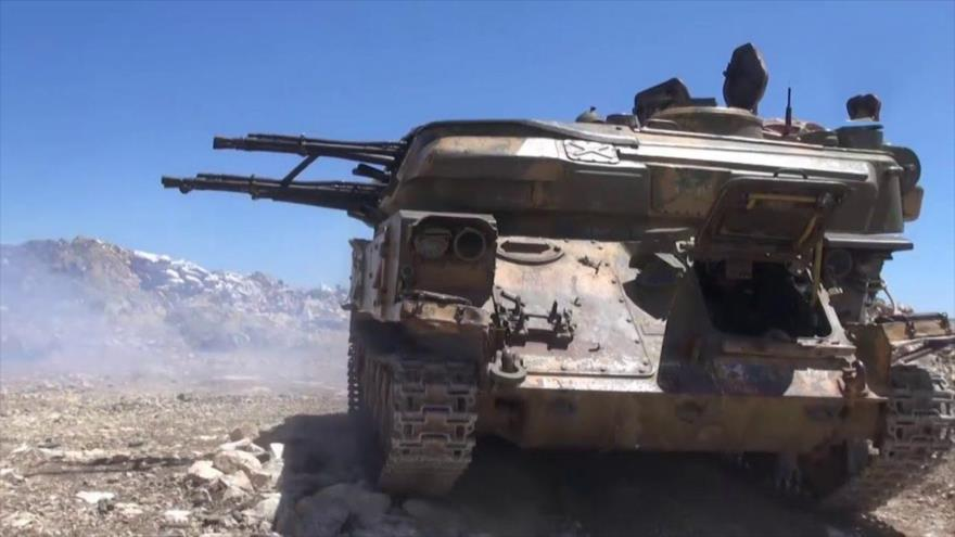 Vídeo: Siria bombardea a terroristas extranjeros en frontera turca