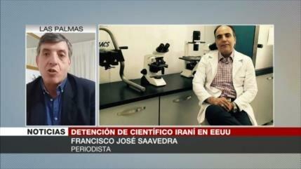 Saavedra: EEUU detuvo al profesor iraní por motivos políticos
