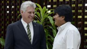 Cuba saluda triunfo electoral de Morales pese a 'guerra mediática'