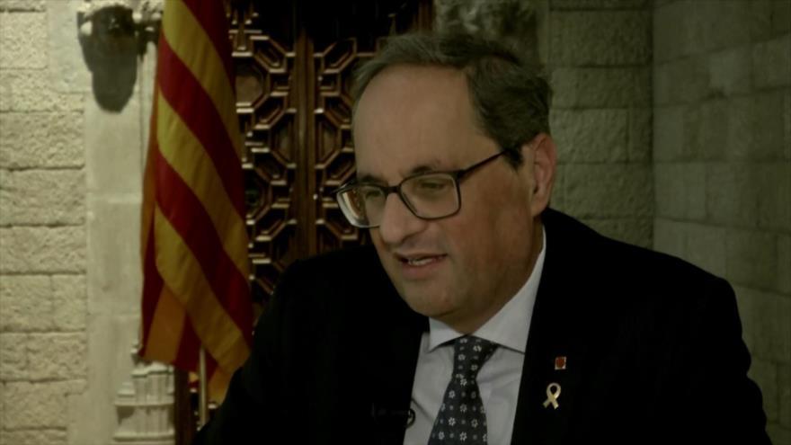 Cataluña insiste en el diálogo con el Gobierno de Madrid