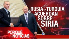 El Porqué de las Noticias: Acuerdo sobre Siria. Brexit. Cataluña
