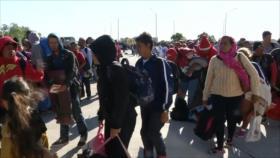 Refugiados protestan en Estados Unidos contra medidas de Trump