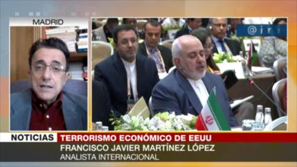 Martínez López: EEUU 'desestabiliza' economía de países soberanos
