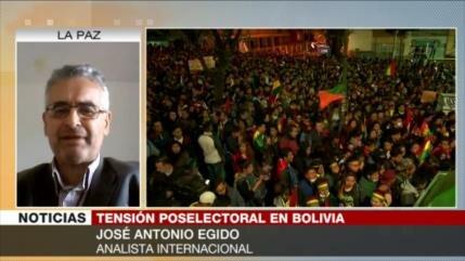 Egido: Derecha boliviana propicia 'golpe de Estado' contra Morales