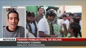 Casado: Derecha boliviana organiza disturbios callejeros